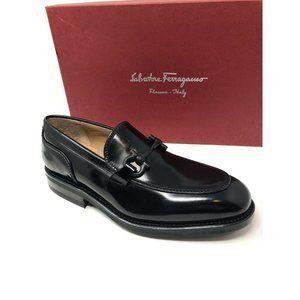 New Salvatore Ferragamo Black Shoes Size 6.5 US